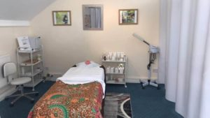 First room of The Treatment Room Massage and Beauty Treatments Knutsford, Cheshire