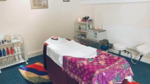 Second Room of The Treatment Room Massage and Beauty Treatments Knutsford, Cheshire