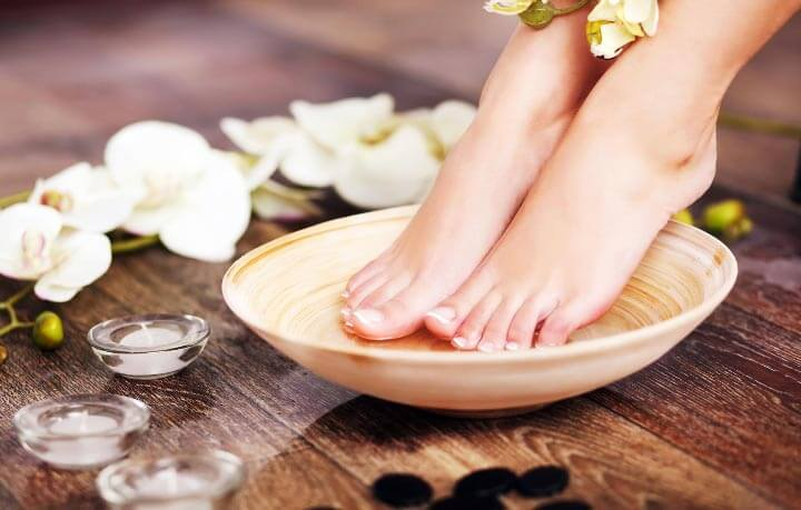 Pedicure at the Treatment Room Massage and Beauty Treatments Knutsford, Cheshire